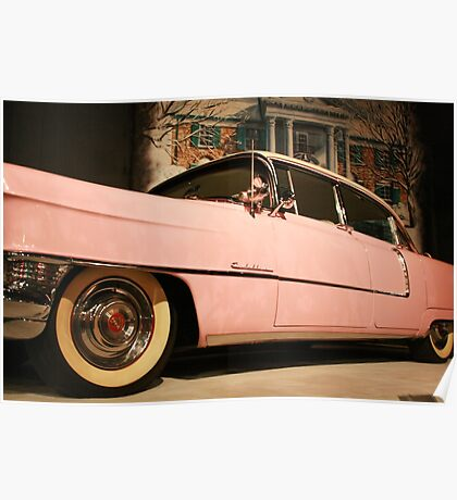 Elvis' Cadillac  Poster