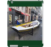 Granville, France 2012 - Reading Boat iPad Case/Skin