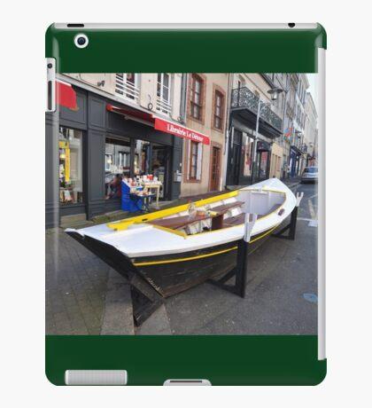Granville, France 2012 - Reading Boat iPad Case/Skin
