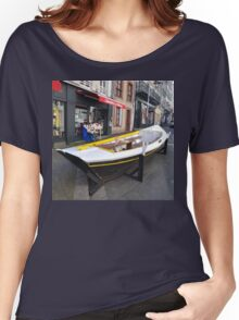 Granville, France 2012 - Reading Boat Women's Relaxed Fit T-Shirt