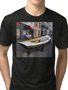 Granville, France 2012 - Reading Boat Tri-blend T-Shirt