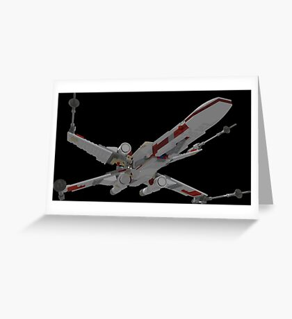 Brick Fighter Greeting Card