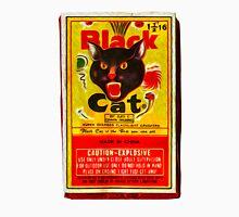 Black Cat Fireworks T-Shirt Unisex T-Shirt