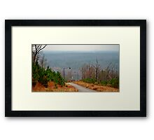 I wanna live at the top of the mountain Framed Print