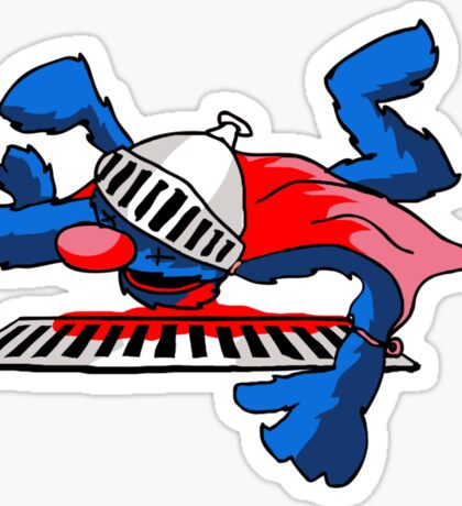 Super Grover At His Best Sticker