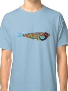 Symbols of Portugal - Cool Rooster Sardine Mix Classic T-Shirt