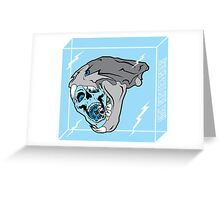 Cold Chillin' - Sick Skateboards Greeting Card