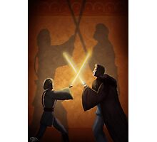 Master and Padawan Photographic Print