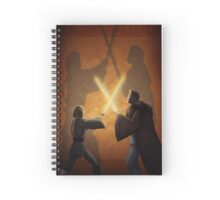 Master and Padawan Spiral Notebook