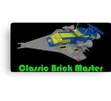 Classic Brick Master Canvas Print