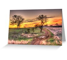 Return Journey - Cootamundra, NSW - The HDR Experience Greeting Card