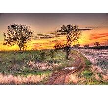 Return Journey - Cootamundra, NSW - The HDR Experience Photographic Print