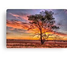 Crossroads - Near Junee NSW - The HDR Experience Canvas Print