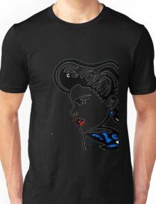 Retro Pop.Girl&Bluebird Unisex T-Shirt
