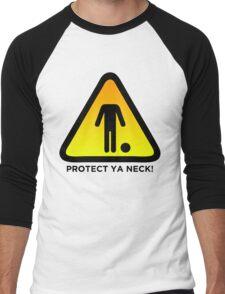 Protect Ya Neck! (Brazilian Jiu Jitsu) Men's Baseball ¾ T-Shirt