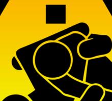 Beware of Jitz (Jiu Jitsu) 2 Sticker