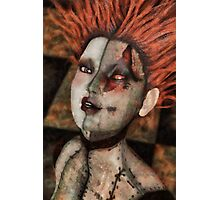 Disfigured Doll Photographic Print
