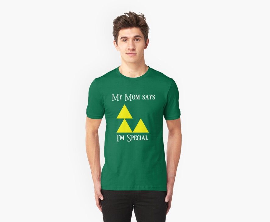 Triforce - My mom says I'm special (B) by DrGluefoot