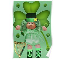 CABBAGE PATCH DOLL GOES IRISH Poster