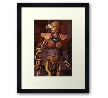 Steampunk Android Framed Print