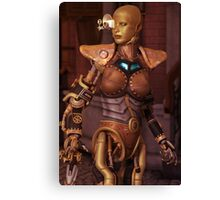 Steampunk Android Canvas Print