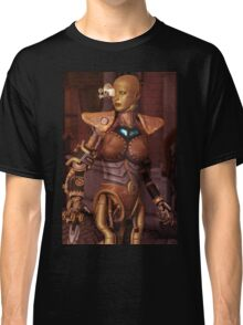 Steampunk Android Classic T-Shirt