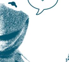 Kermit in Love Sticker