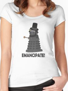Abraham Dalek Women's Fitted Scoop T-Shirt