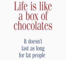 LIFE IS LIKE A BOX OF CHOCOLATES... by w1ckerman