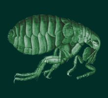 Friendly Green Flea Tee by adrienne75