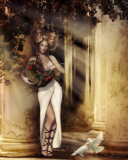 Pomona, Goddess of the Bountiful Harvest by Shanina Conway