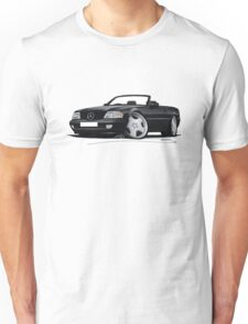 Mercedes SL (R129) Black Unisex T-Shirt