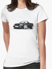 Mercedes SL (R129) Black Womens Fitted T-Shirt