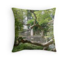 Beautiful Ginkgo Biloba Tree, New Jersey Botanical Garden Throw Pillow