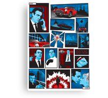 Bond Canvas Print
