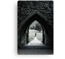 Through the Arch Canvas Print