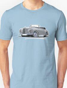 Rolls-Royce Silver Cloud III Mulliner Drophead Silver Unisex T-Shirt