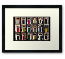 Georgian doors of Dublin Framed Print