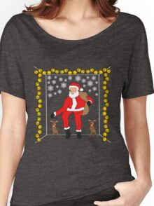 Christmas Eve Bling  Women's Relaxed Fit T-Shirt