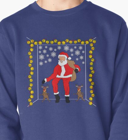 Christmas Eve Bling  Pullover
