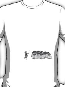 Flans Advance BW T-Shirt