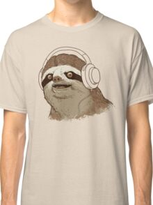 What is a sloths favourite music? Classic T-Shirt
