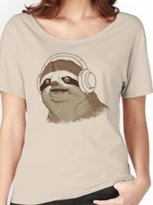 What is a sloths favourite music? Women's Relaxed Fit T-Shirt