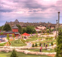 Mini Golf at Blue Mountain by John Velocci