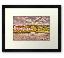 Blue Mountain - HDR - 2 Framed Print