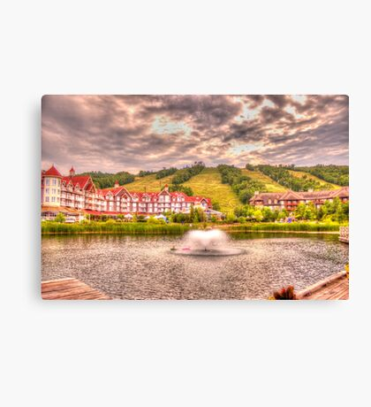 Blue Mountain - HDR - 2 Canvas Print
