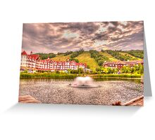 Blue Mountain - HDR - 2 Greeting Card