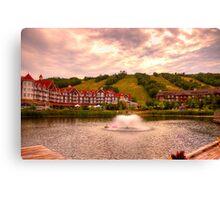Blue Mountain - HDR Canvas Print