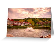Blue Mountain - HDR Greeting Card