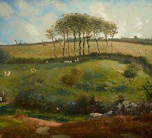 Pasture near Cherbourg (Normandy), 1871-2 by Bridgeman Art Library